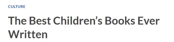 Best childrenès books 1